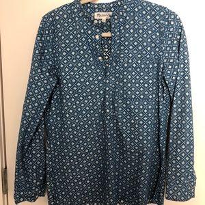 Madewell Patterned Shirt - Medium